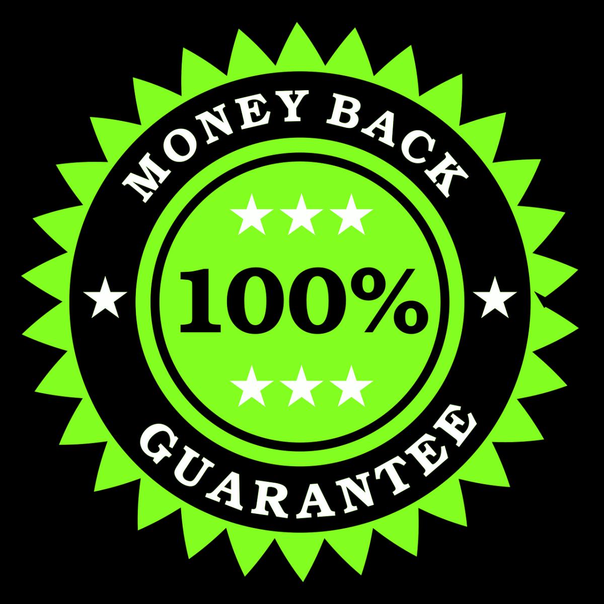 money, back, guarantee